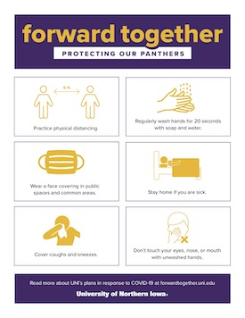 General Forward Together poster for COVID 19